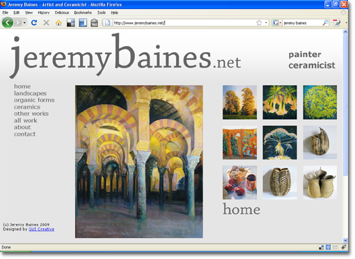 Jeremy Baines website