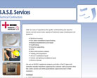 BASE services website design