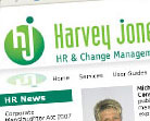 Harvey Jones website design