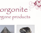 love orgonite website design