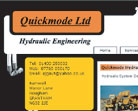 Quickmode website design