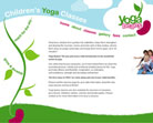 Yoga Beans website design